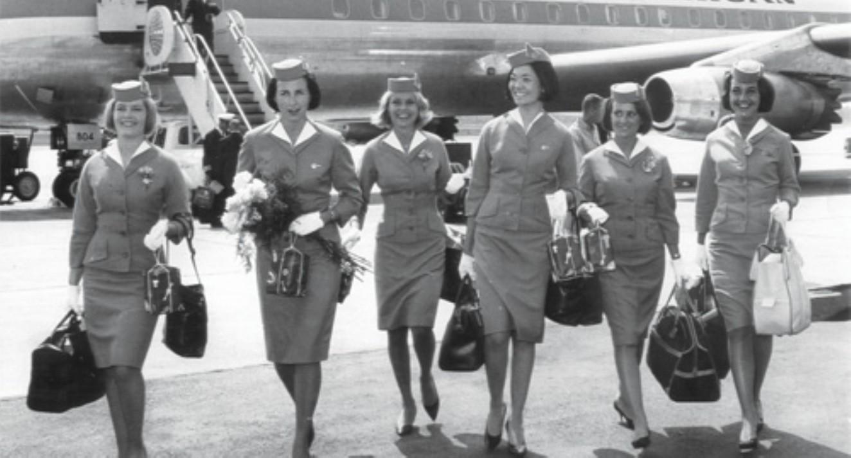 The Evolution Of Flight Attendant Uniforms Skypro Blog