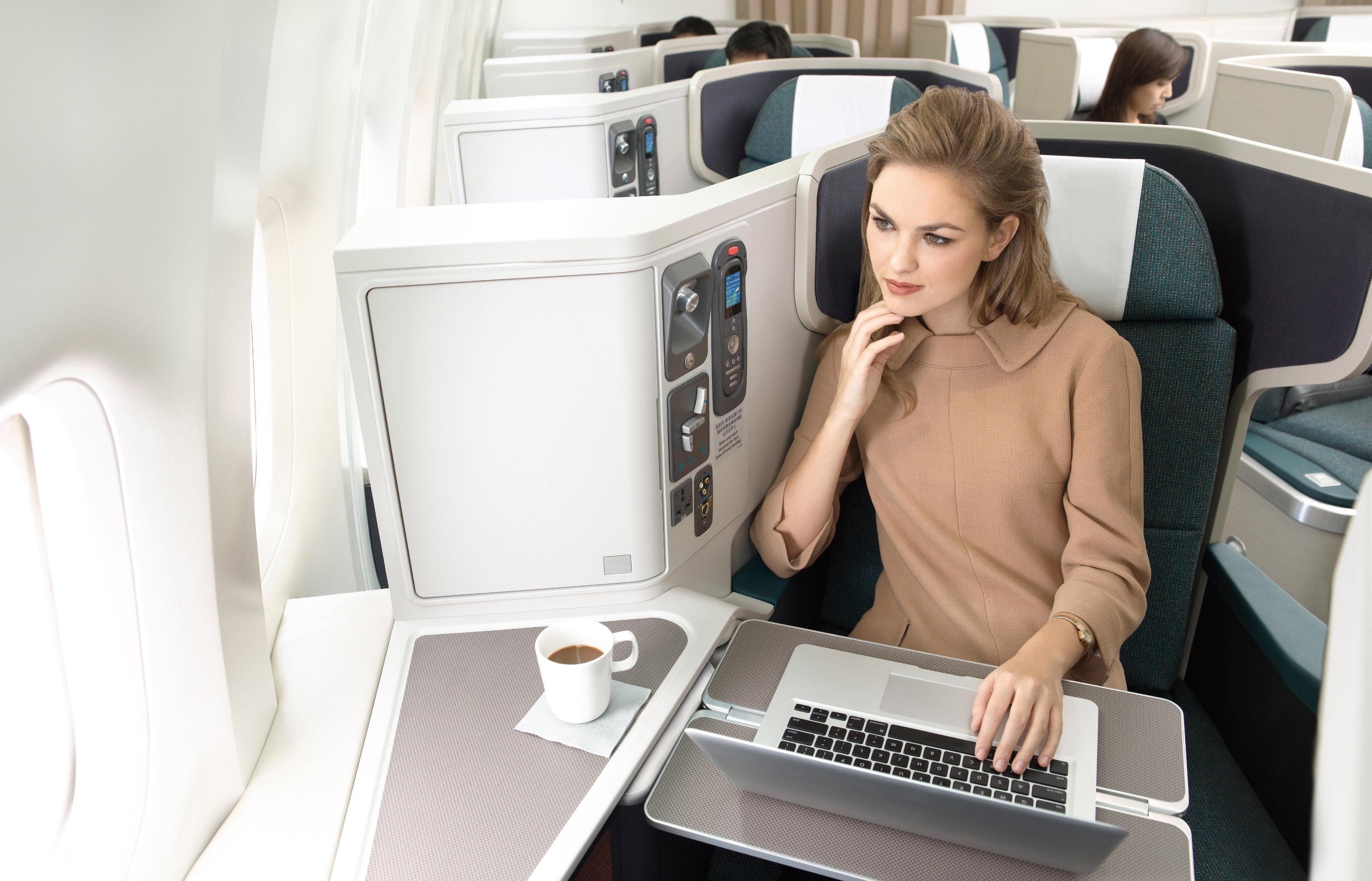 "Cathay Pacific - SKYTRAX ""World's Best Business Class"""