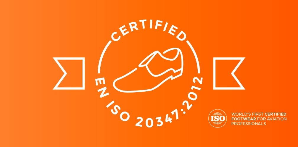 Skypro shoes are certified under EN ISO 20347.